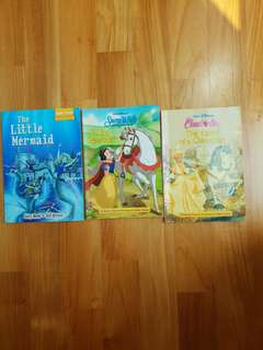 Fairy Tales (Snow White, Cinderella, The Little Mermaid)
