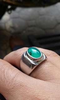 cincin bacan semi giwang cristal