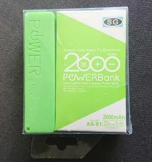 2600mAh Powerbank