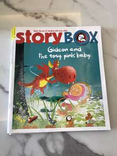 Story Box - Gideon and the rosy pink baby