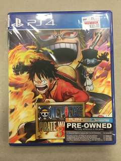 Playstation 4 One piece: Pirate Warriors 3 (Used)