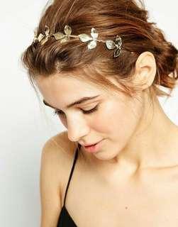leaves hair accessories