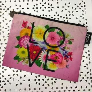 Typo pencil case / pouch
