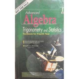 Advanced Algebra Trigonometry and Statistics