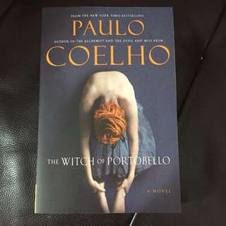 Paulo Coelho - the witch of portobello book