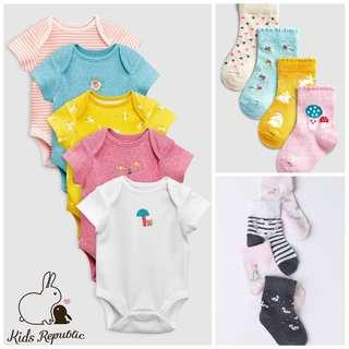 KIDS/ BABY - Bodysuit/ socks