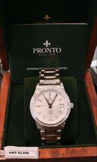 一支棒,瑞士名錶百浪多 原裝瑞士製造,自動機械表。兩年全國保養,原價$5xxx 100%real❗️假一賠百❗️有意者請向本人查詢折扣及留貨