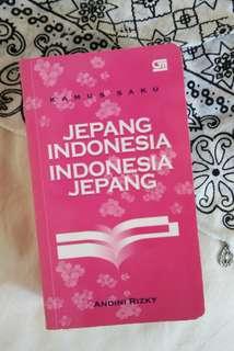 Kamus Saku Indonesia Jepang