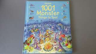 BN Usborne 1001 Monster Things To Spot
