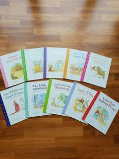 Fairy Tales collection (set of 10 books)