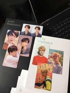 BTS Love Yourself Her & Tear with Jimin Photocard
