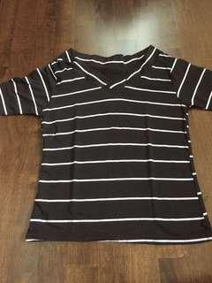 Striped tight top