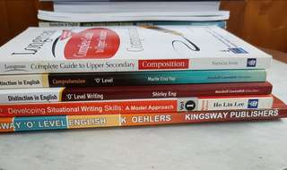 Bundle of 5 O level and upper secondary English-speaking assessment