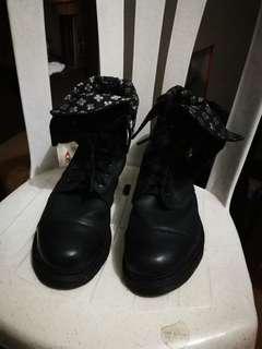 Doc Martens Foldable Combat Boots