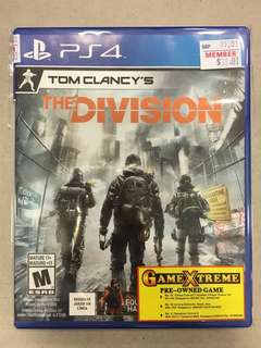 Playstation 4 Tom Clancy's: The Division (Used)