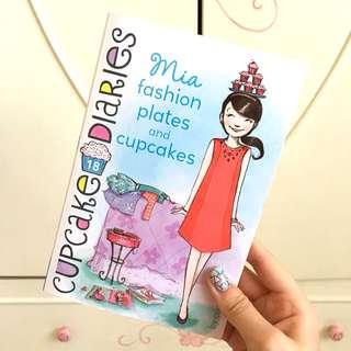 Cupcake Diaries Mia Fashion Plates & Cupcakes