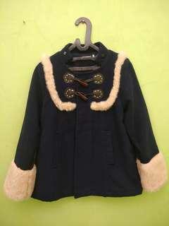 Navy Short Coat (Japan Style)
