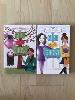 Books 2 & 3 Girl Meets Ghost Series: The Harder the Fall / Ghost of a Chance By Lauren Barnholt