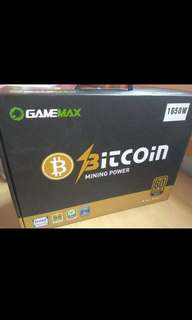gamemax bitcoin mining power 1650w