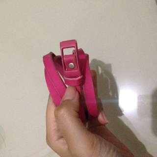 Belt pink kecil