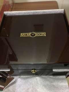 MEMORIGIN 萬希泉 木製錶盒