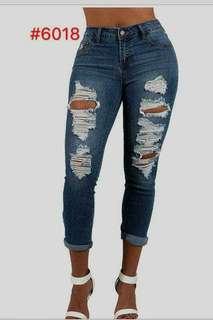 🌼Plus Size Tattered Pants