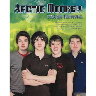 ARCTIC MONKEYS iTunes Festival Music DVD