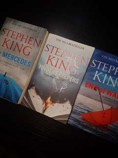 Stephen King Mr Mercedes Finders Keepers End of Watch