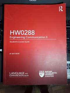 HW0288 Engineering Communication II