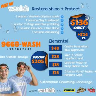 Car Waxing & Automobile Grooming Concierge On-Demad