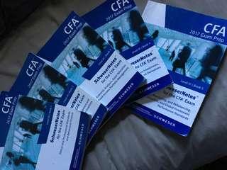 CFA LEVEL III Schweser Notes study notes Book 1-5
