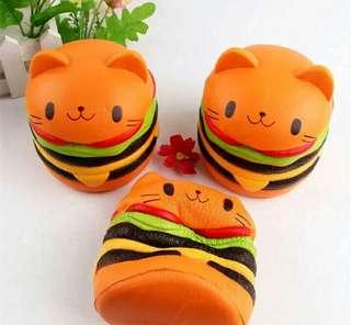 Squishy burger
