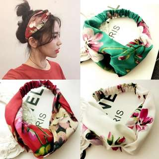 New bandana flower