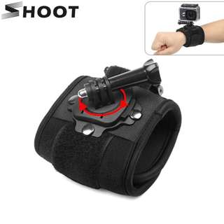 360 Degree Rotation Hand Wrist Strap for GoPro Hero 5 6
