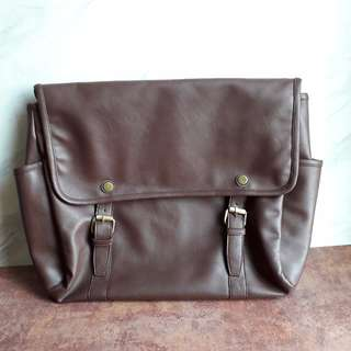 Big Sale! Messenger Bag warna Coklat