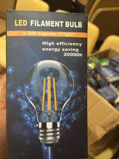 LED Light Bulbs x60 PCs with wires and holders