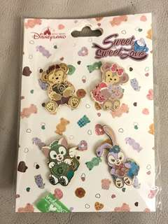 Disney Duffy Shellie May Stella Lou Gelatino襟章