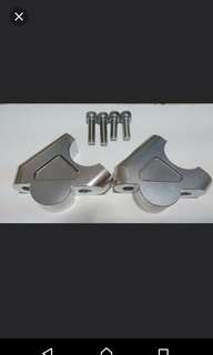 Handle bar risers BMW R1200GS ADVENTURE GSA LC liquid cool cooled