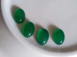 😆CLEARANCE! Natural Green Chachedolny Oval Cabochon