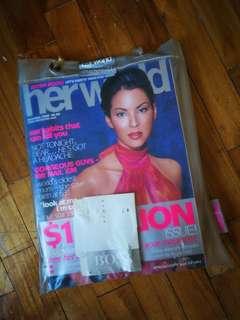 Her World Dec 2000 Issue