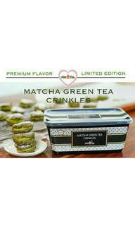 Matcha Green Tea Crinkles