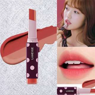 🚚 Laneige x YCH Two Tone Matte Lip Bar in 04 Fitting Rose