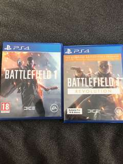 Battlefield one + Expansion