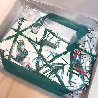 Jim Thompson Canvas Beach Tote & Cosmetic Bag 沙灘帆布手袋/化妝袋