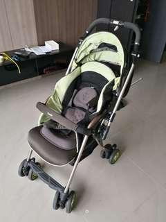 Combi miracle turn stroller pram