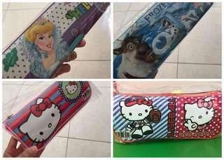 BARU kotak pensil anak take all 4 pcs