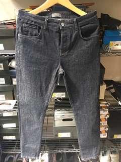 Celana Zara jeans blue indidgo