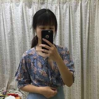 [BN] Floral Blouse #July50