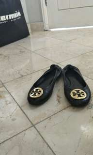 Tory Burch Classic Reva Ballet Authentic