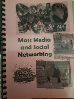GP mass media and social networking notes
